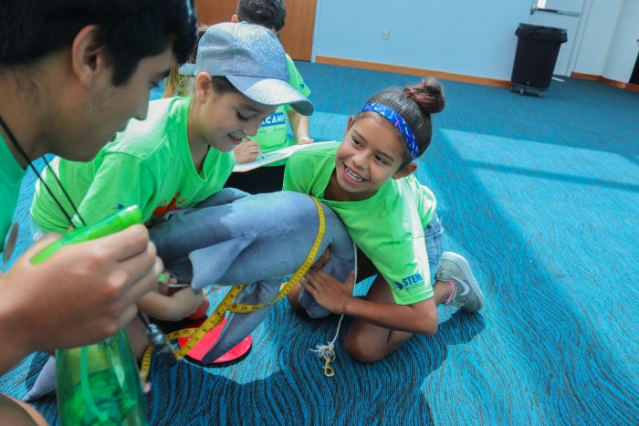 "SeaCampers participate in ""shark-tagging"" activity"